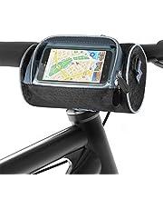 Aujelly Fietsstuurtas, waterdichte fietstas met grote capaciteit, fietstas met smartphone touchscreen, fietsaccessoire, ideaal voor navigatie