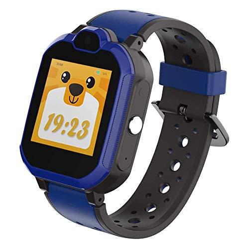 9Tong GPS Tracker Reloj Inteligente Niños Juegos a Prueba de Agua Cámara Niños Relojes Inteligentes Llamada telefónica Kid GPS Reloj Tracker 4G SOS Reloj Despertador Podómetro