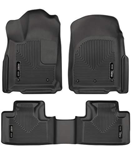 Husky Liners 99151 Black Weatherbeater Front & 2nd Seat Floor Liners...