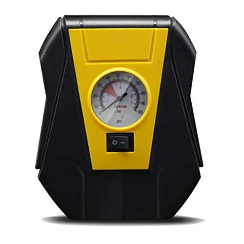 Hokaime Inflador de neumáticos de 12 V para encendedor de cigarrillos, inflador de neumáticos de coche, compresor de aire eléctrico, bomba portátil automática para coches, furgonetas, pelotas