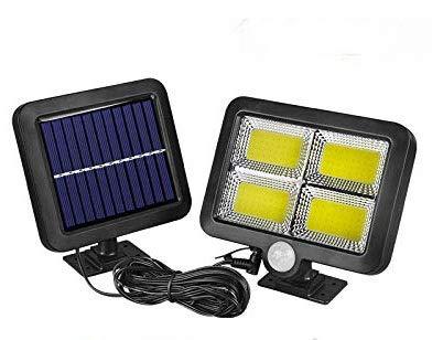 UNbran Luces Solares para Exteriores, Superbrillantes 56 SMD/98 SMD/108 COB / 128 COB LED con Sensor de Movimiento, Funciona con Energía Solar, Luces Nocturnas para Jardín Exterior Interior, 108 SMD