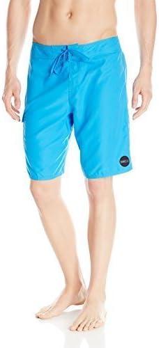 O'NEILL Men's Santa Cruz Solid Boardshort, Blue, 29