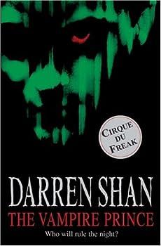 Paperback The Vampire Prince (Cirque Du Freak #6) Book