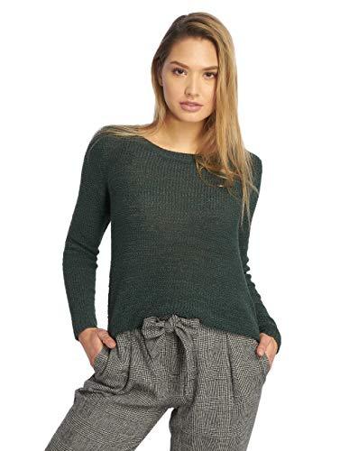 ONLY Damen onlGEENA XO L/S KNT NOOS Pullover, Grün (Green Gables Green Gables), 38 (Herstellergröße: M)