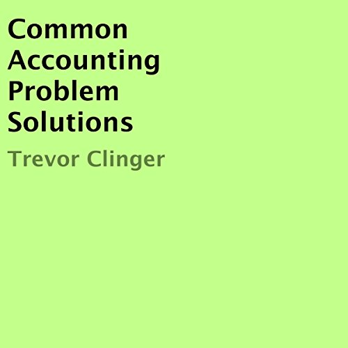 Common Accounting Problem Solutions audiobook cover art