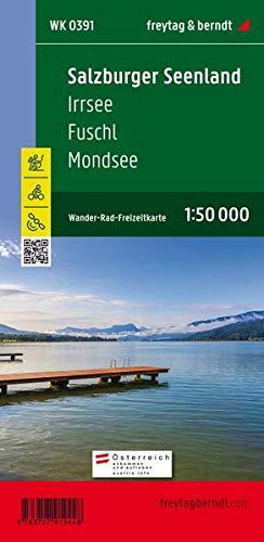 Salzburger Seenland - Irrsee - Fuschl - Mondsee, Wander + Radkarte 1:50.000 (freytag & berndt Wander-Rad-Freizeitkarten)