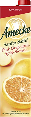 Amecke Sanfte Säfte Pink Grapefruit-Apfel 6 x 1 l