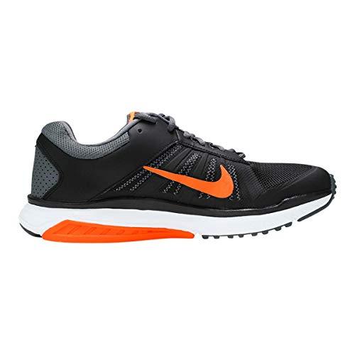 Nike Men's Dart 12 MSL Running Shoes Black/Orange/Grey 10