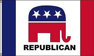 AZ FLAG Bandera del Partido Republicano DE Estados Unidos Nuevo 150x90cm - Bandera Republicana Americana 90 x 150 cm