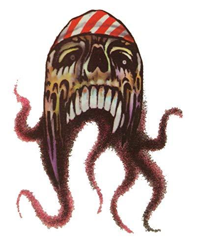 Horror-Shop Pirate Tattoo Octopus