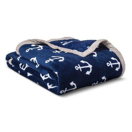 Circo New Anchors Plush Blanket Full/Queen