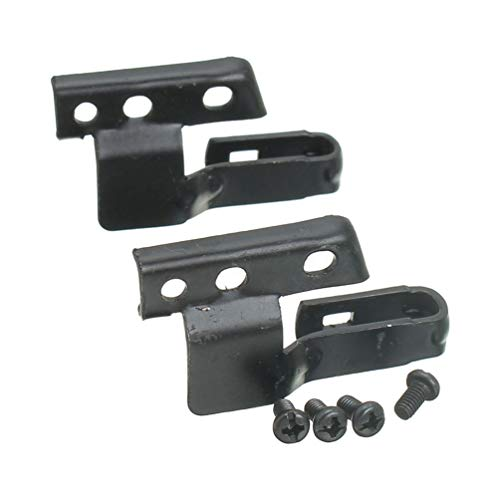 TAOHOU Par de 2 Kit de Adaptador de Brazo de limpiaparabrisas Delantero Parabrisas de Bosch 3392390298 Negro