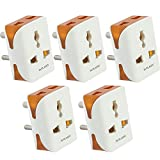 A Universal Plastics Product.Package Content : 5 pcs Modular Travel Adaptor One 3pin socket and two 2pin sockets can be inserted at a time.Power Consumed : 220-250 V, 50Hz Suitable For: Adults. Used at offices,house,schools or at any workplace. High ...