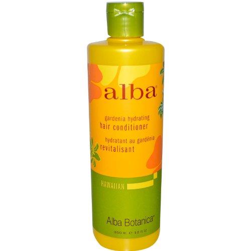 Gardenia Hydrating Hair Conditioner 12 fl oz (350 ml) Liquid by ALBA BOTANICA