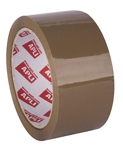 APLI Ruban emballage en PP 48 mm x 66 m