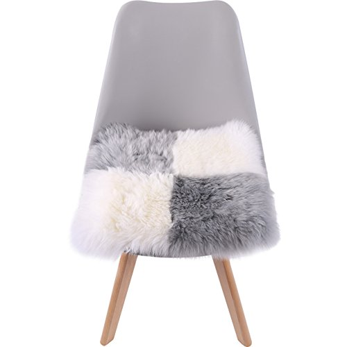 xinping Chair Pads Chaise Pad Pure Laine Coussin Bureau Assise, C, 40x40cm(16x16inch)