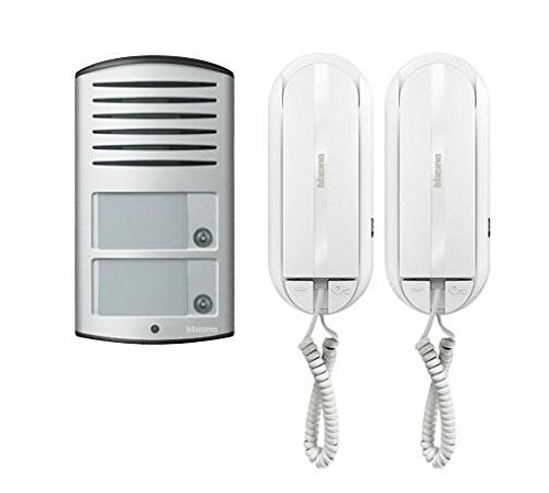 Bticino Türsprechanlage für 2-Familienhaus mit 2-Draht-Technik
