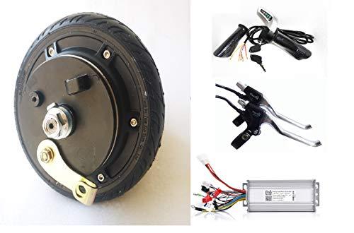 6,5pulgadas 250W 48V freno de tambor Buje de rueda eléctrica Motor sin...