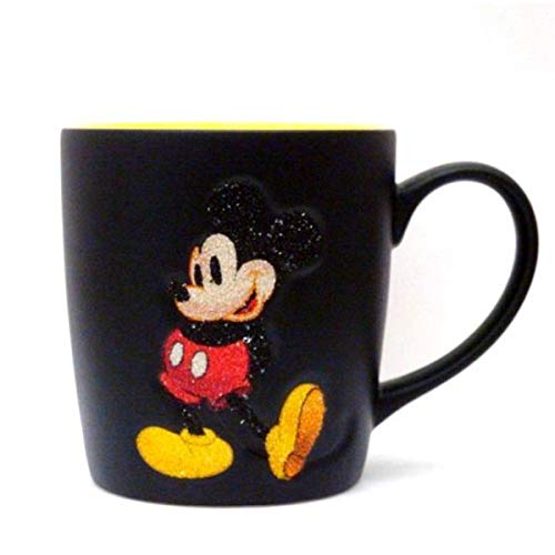 Disneyland Paris Mickey Mouse Glitzer-Tasse