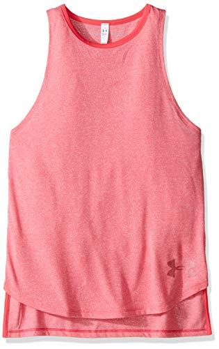 Under Armour Jungen Trainingstank HeatGear Threadborne Play Up, pink, YLG - 152, 1289903-692/YLG