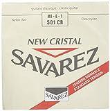 Savarez Corde per chitarra classica Alliance New Cristal 501CR corde singole E1/Mi1 standard, si adatta al set di corde