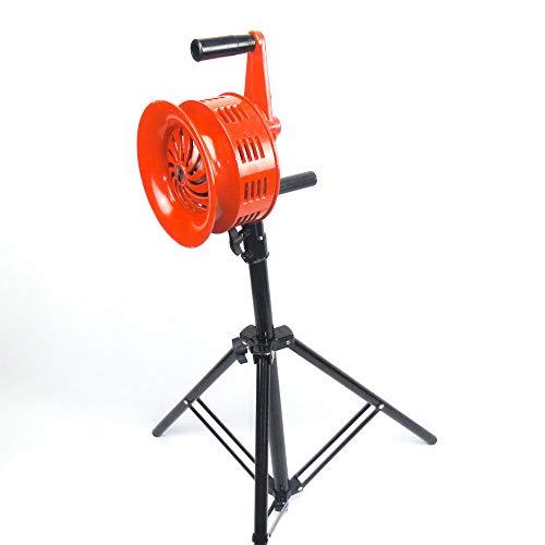 Manuelle Sirene auf Stativ - 118 dB - 5 kg - ALU - Alarm THW Feuerwehr ROT