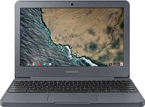 "Samsung Chromebook 3 XE501C13-K01US, Intel Dual-Core Celeron N3060, 11.6"" HD, 2GB DDR3, 16GB eMMC, Night Charcoal"