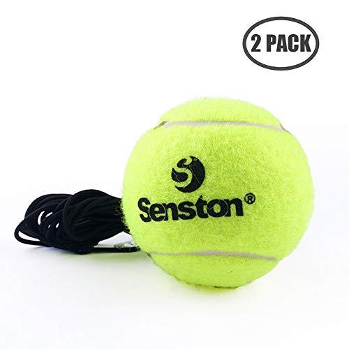 Senston Palle da Tennis per Principianti con Corda, Confezione da 2