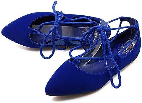 HommesGLTX HommesGLTX HommesGLTX Talon Aiguille Talons Hauts Sandales Oxford Chaussures pour Femmes Grande Taille 34-51 2019 Nouveau Bas Femmes Ballerine pour Ballet Chaussures ApparteHommests Bout Pointu E1277 e4c