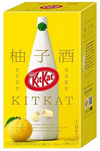 Nestlé Japan Kit Kat Mini Yuzu Sake 9 pieces Japan Import