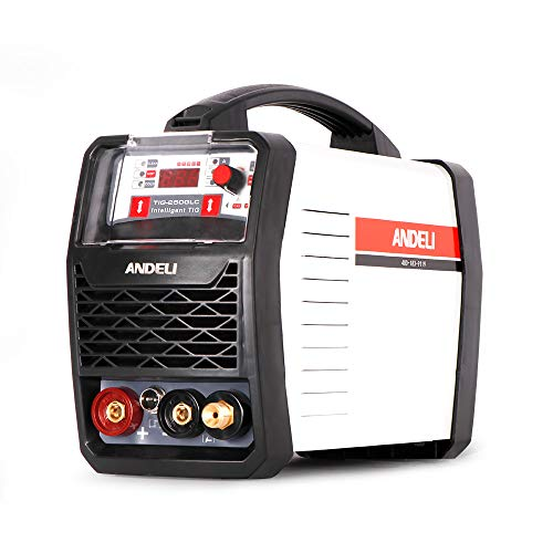 ANDELI TIG Welder with CLEAN & COLD 3 in 1 Smart...