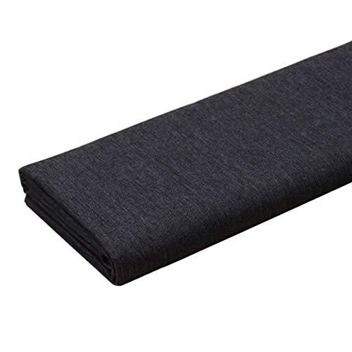Wassen Denim stof Elasticiteit Medium dik Zwart Katoen Naaien Kleding Stof Maak Zand release Gordijnen Spijkerjack (Size : 1.4m X 1m)