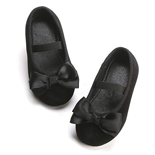 Infant Black Shoes Size 5
