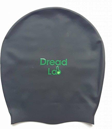 dreadlab–Extra große Badekappe (schwarz) Dreadlocks/Zöpfe/Slalom/Extensions