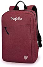 Mufubu Presents Iconic Slim Casual Laptop Backpack Bag for Students & Office Professionals (Red)