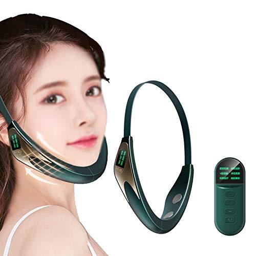 NLRHH Massager Massager Smart Face-Lifting Double Chin firmemente Levantamiento, Carga USB, Control Remoto Peng