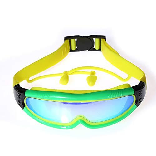 Gafas de natación para niños - Gafas de Espejo con protección UV - Gafas de Lentes de Colores para niños y niñas de 4 a 12 años de Edad,C5