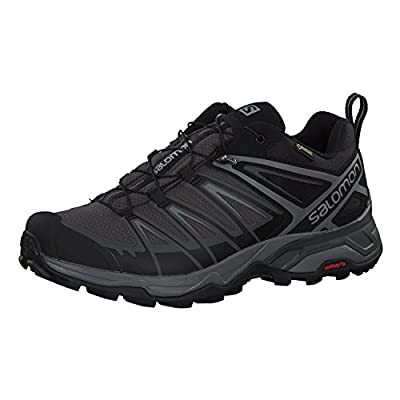 Salomon Men's X Ultra 3 GTX Hiking Shoes, Black/Magnet/Quiet Shade, 10