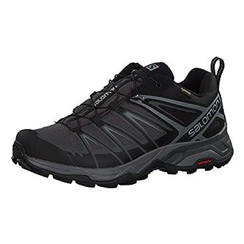 Salomon Men s X Ultra 3 GTX Hiking Shoes Black/Magnet/Quiet Shade 12