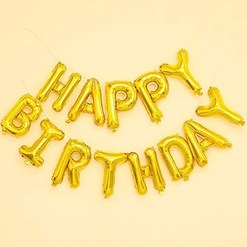 JSJJAWS Globos Decoracione Dinosaurio temáticas del Partido del Feliz cumpleaños Decoración for Niños película de Aluminio de Feliz Cumpleaños decoración (Color : 13)