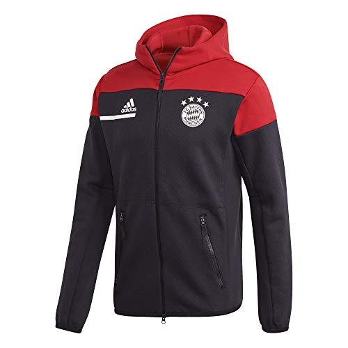 adidas Herren FC Bayern ZNE Anthem Jacket Fußballjacke, Black/Fcbtru, XL