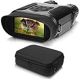 Exprotrek Digitales Nachtsichtgerät Binokular, Wildkamera HD Digital Infrarot Nachtsicht Fernglas, Nachtsichtbrille für Vogelbeobachtung, Jagd, IR-Strahler für 100 % Dunkelheit – QHD+ Fotos & Videos