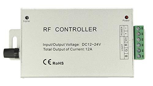 Centralina Rf Audio Controller Strip Led Rgb Cambio Colore A Ritmo Di Musica Dc5v 12v 24v Frequenza 433mhz Telecomando Incluso