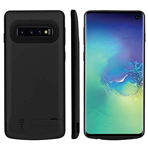 Fey-EU Cover Batteria per Galaxy S10 Plus, 6000mAh Custodia Ricaricabile Cover Caricabatterie Batteria Esterna Battery Case per Samsung Galaxy S10 Plus [6.4'']...