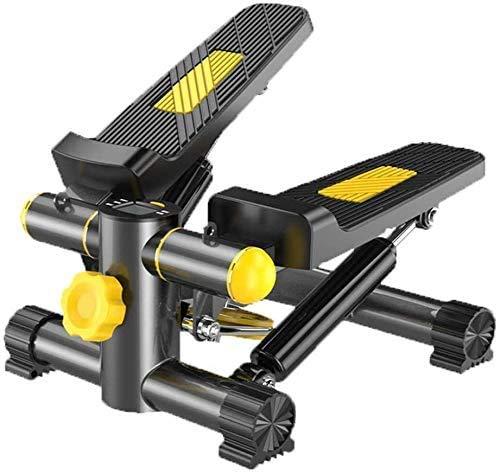 HYCQ en Acier au Carbone de Charge 135KG Stepper, Cuisse Formateur Exercice aérobie aérobie de Remise en Forme, avec Affichage à LED Up and Down Stepper, Portable