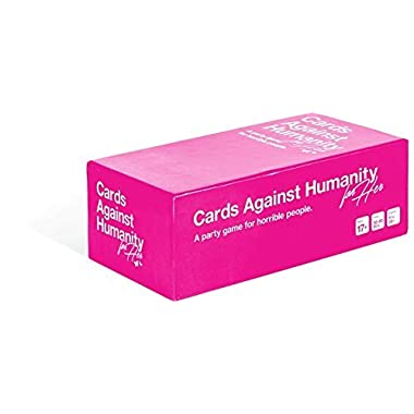 Cards Game Against Humanity for Her, Limited Edition Pink Game for Girls US Version