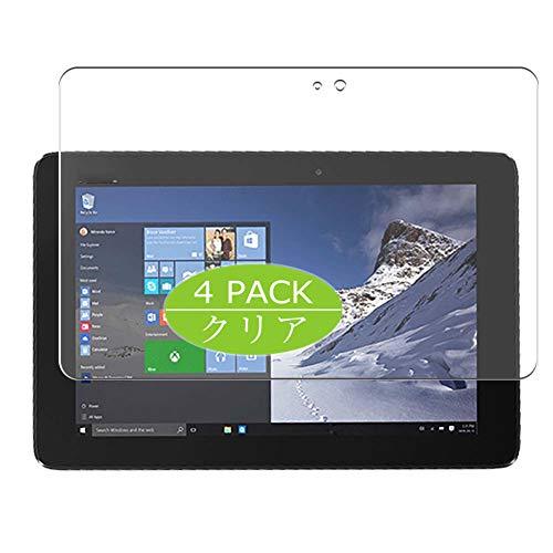 VacFun 4 Piezas HD Claro Protector de Pantalla Compatible con ASUS TransBook T100HA X5-Z8500 10.1', Screen Protector Sin Burbujas Película Protectora (Not Cristal Templado) New Version