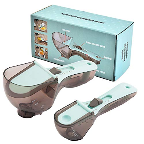 Measuring Cups Measuring Spoons Set Measuring Spoons for Dry and Liquid Ingredients Calibration-2