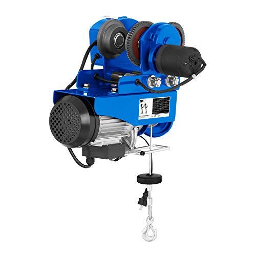 MSW - Laufkatze PROCAT 300-160 Watt - bis zu 300 kg Hebeleistung - Stromaufnahme 230V/5,1 Ampere - Elektromotor mit 1300 Watt - Kabelzugentlastung