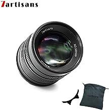 7artisans F1.4 APS-C - Lente Fija Manual de 55 mm para cámaras Canon EOS-M como M1 M2 M3 M5 M6 M10